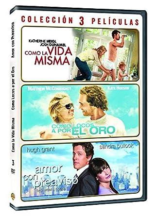 Pack: Como La Vida Misma + Amor Con Preaviso + Como Locos... A Por El Oro DVD: Amazon.es: Varios, Varios, Varios, Varios: Cine y Series TV