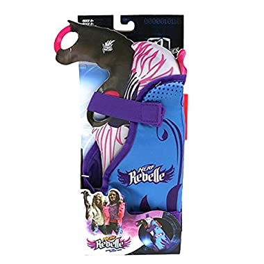 Nerf Rebelle Secrets and Spies Blaster Holster with Secrete Message Decoder Fits Nerf Rebelle Rapid Red Blaster and More