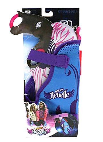 Nerf Rebelle Secrets and Spies Blaster Holster with Secrete Message Decoder (Gun Leg Holster With Belt)