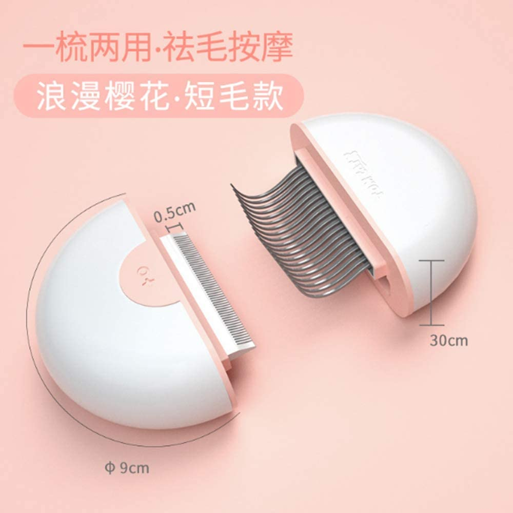 unbrand TIAMO pet Comb cat Hair Removal Brush Knotted Comb Suitable for Cute Small Pets.