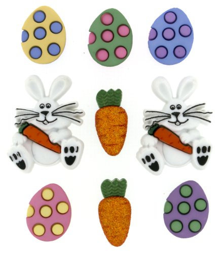 "Dress It Up 7709""Easter Egg Hunt Novelty Embellishments"