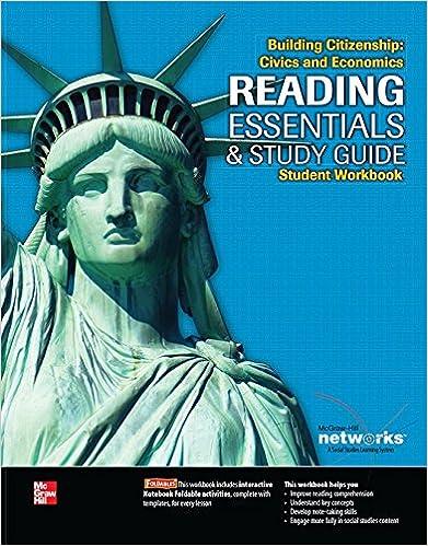 Building Citizenship: Civics and Economics, Reading Essentials and ...