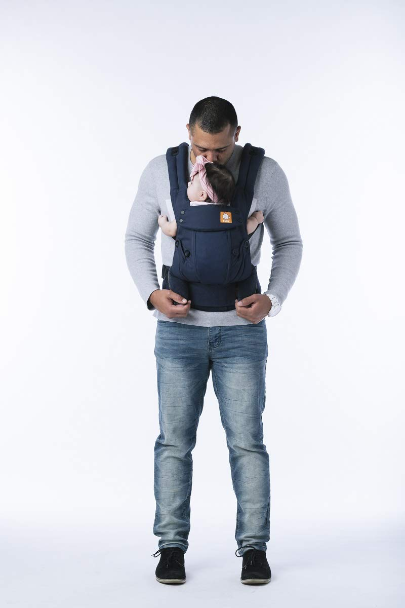mesh front facing baby carrier
