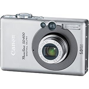 Amazon.com : Canon Powershot SD400 5MP Digital Elph Camera