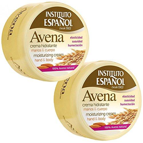Instituto Espanol Avena Daily Moisturizing Hand & Body Cream, 6.8 Oz (Pack of 2)