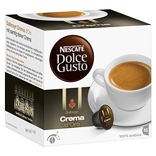 Nescafé Dolce Gusto Dallmayr Crema d´Oro, 16 Capsules - Import It All