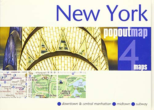 New York PopOut Map (PopOut Maps)...