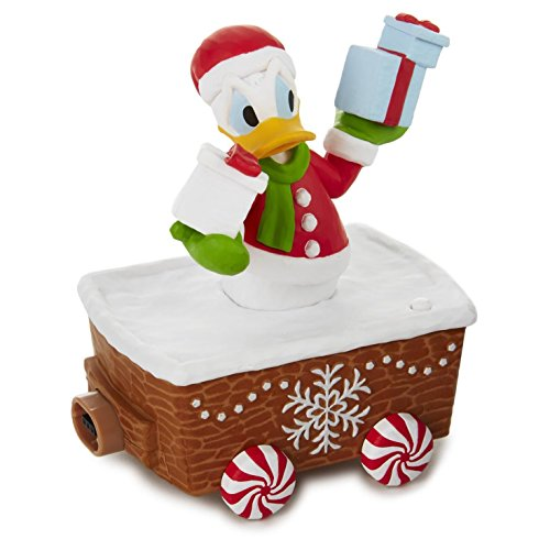 Christmas Donald Duck - Hallmark XKT2134 Disney Christmas Express, Donald Duck