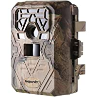 Dtemple Waterproof 12MP 1080P HD Game and Trail Camera with 0.4s Trigger Time 120°Wide PIR Angle Infrared Night Vision IR LEDs 100°FOV Deer Scouting Camera (US STOCK)