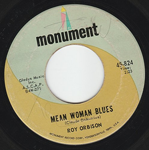 Roy Orbison - 45vinylrecord Mean Woman Bluesblue Bayou - Zortam Music
