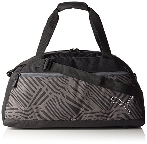 PUMA borsa sportiva Echo Sports Bag, Black, 54 x 23 x 27 cm, 35 litri, 073792 01