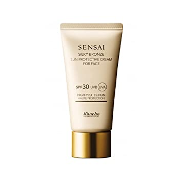 Amazon.com: Kanebo Sensai Silky Bronze Cellular Protective Cream for Face SPF 30, 1.7 Ounce: Beauty