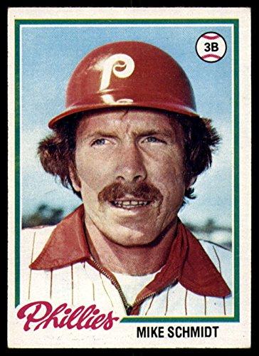 Baseball MLB 1978 Topps #360 Mike Schmidt Excellent Phillies