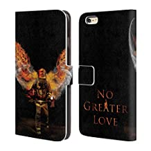 Official Jason Bullard No Greater Love Fireman Firefighter Leather Book Wallet Case Cover For Apple iPhone 5 / 5s / SE