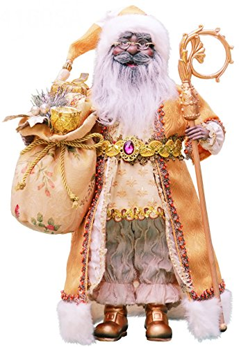Santa Figurines Black (16