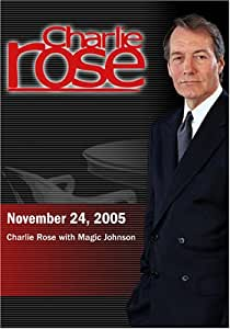 Charlie Rose with Magic Johnson (November 24, 2005)