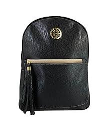 Mochila Grande Mod. 3172 Negro Backpack para Dama 27x33cm