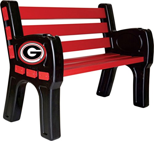 - Imperial Officially Licensed NCAA Furniture; Park Bench, Georgia Bulldogs