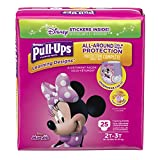 Health & Personal Care : Pull-Ups Learning Designs Potty Training Pants for Girls, 2T-3T (18-34 lb.), 25 Ct. (Packaging May Vary)