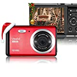 "Vmotal 12 Mega Pixels 3"" LCD Rechargeable HD Digital Camera,Video Camera Digital Students"
