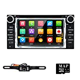 Hizpo Universal Car DVD Player for Toyota Camry Corolla RAV4 4Runner Hilux Tundra Celica Auris Radio 2 Din 6.2 Inch In Dash GPS Sat Navigation