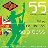 Rotosound SM55 Linea Pressure Wound Bass Guitar Strings (40 60 80 100)