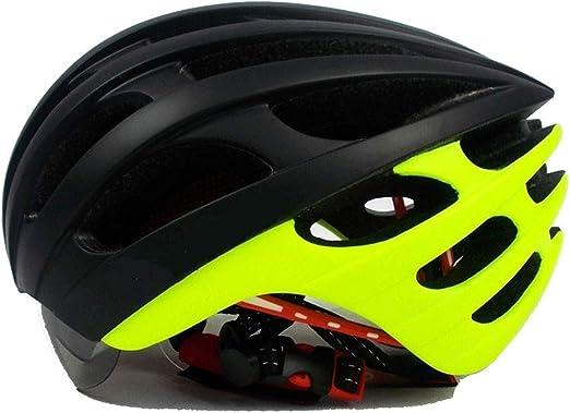 shuhong Casco De Ciclismo Gafas Magnéticas Casco De Bicicleta ...