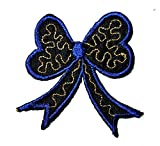 Beautiful Bow Knot Ribbon Embroidered Patch