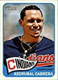 2014 Topps Heritage #15 Asdrubal Cabrera - Cleveland Indians (Baseball Cards)