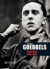 Journal de Joseph Goebbels 1923-1933 par Joseph Goebbels