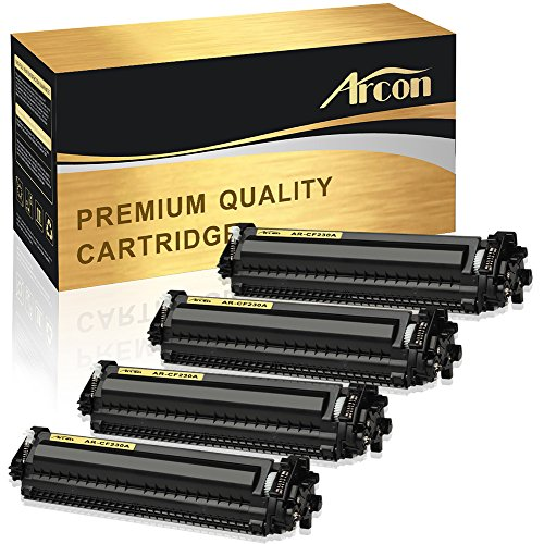Arcon 4 Pack Compatible for HP 30A HP 30X CF230A M203dw M227