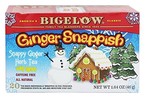Bigelow Tea Ginger Snappish, 20 tea bags, 1.64 oz