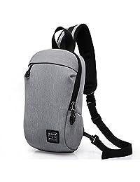 Oak-Pine Men Fashion Anti-Theft Design Sling Bag