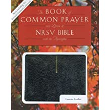 1979 Book of Common Prayer (RCL edition) and the New Revised Standard Version Bible with Apocrypha, genuine leather black, 9634AP