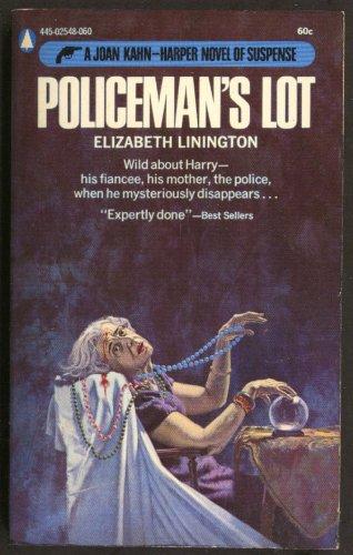 Elizabeth Linington: Policeman's Lot noir pb dead fortune teller crystal ball
