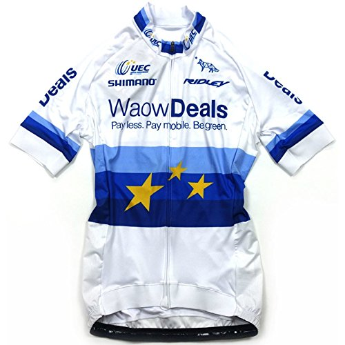 GSG Waow Deals EU Champ Lady Jersey ホワイト レディース L(G8S-WEC-JY-WH-L)   B07D7LZ3T5