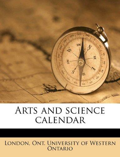 Download Arts and science calenda, Volume 1918-1919 PDF