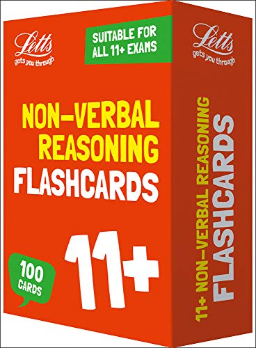 11+ Non-Verbal Reasoning Flashcards (Letts 11+ Success) (Best 11 Plus Practice Papers)