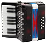 Classic Cantabile Bambino Children's accordion, black, 8 basses