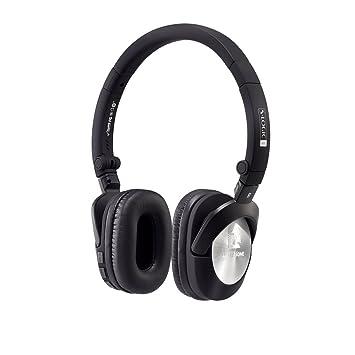 Ultrasone Go aptX Bluetooth Auriculares en Negro de Plata con batería, Incluye Bolsa de Transporte y Cable: Amazon.es: Electrónica