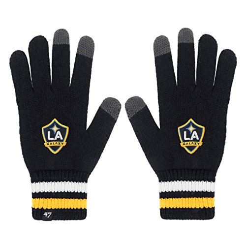 MLS Los Angeles Galaxy '47 Jumble Gloves, One Size, Navy