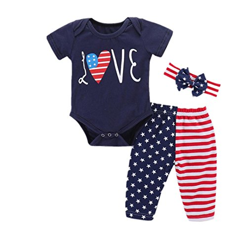 Pollyhb Baby Girls Boys Clothes Set, Infant Baby
