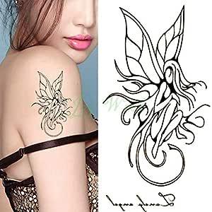 Handaxian 5 Piezas Impermeable Tatuaje Pegatina Trenza Halloween ...
