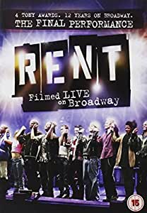Rent - Filmed Live On Broadway [DVD]