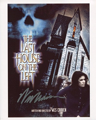 Wes Craven Signed / Autographed Last House on the Left Movie Poster 8x10 Glossy Photo. Includes FANEXPO Certificate of Authenticity and Proof. Entertainment Autograph Original.