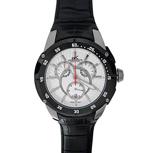 Adee Kaye Ak6003-mwhi Chronograph Mens Watch