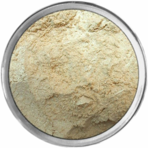 Candlelight Loose Powder Mineral Shimmer Multi Use Eyes Face Color Makeup Bare Earth Pigment Minerals Make Up Cosmetics By MAD Minerals Cruelty Free - 10 Gram Sized Sifter (Bareminerals Yellow Eye Color)