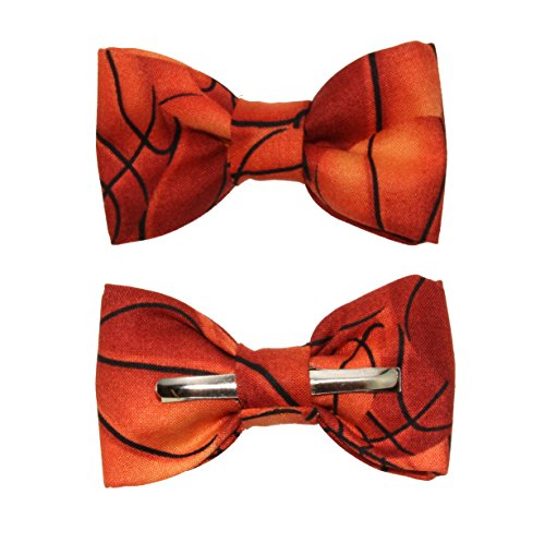 Toddler Boy 3T 4T Basketball Clip On Cotton Bow Tie Bowtie by amy2004marie