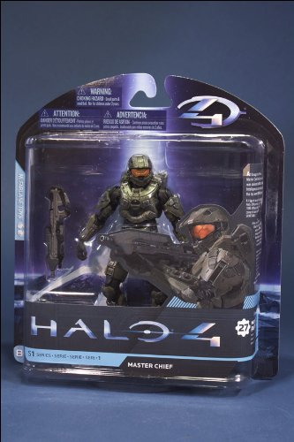 McFarlane Toys Halo 4 Series 1 - Master Chief with Assault Rifle Action Figure