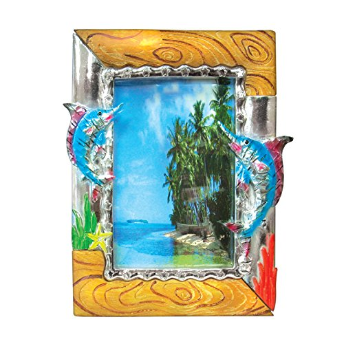 Rockin Gear Picture Frame Marlins - Tropical Animals 8'' x 10'' Photo Frame Holds a 4'' x 6'' Print (Marlins) by Rockin Gear